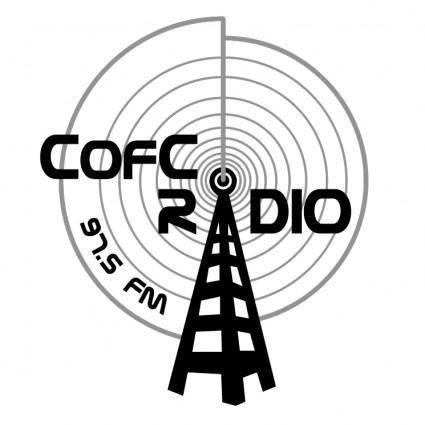 free vector College of charleston radio 975fm