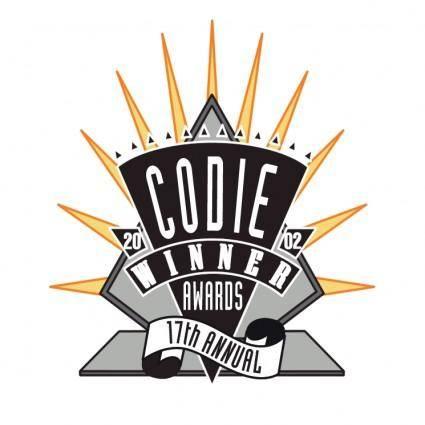 free vector Codie award