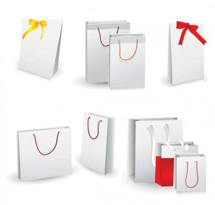 free vector Vector blank bag