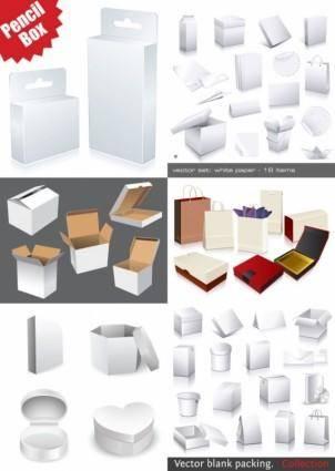 free vector Utility box template vector
