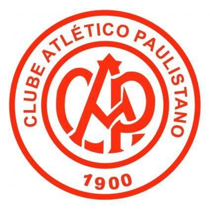 free vector Clube atletico paulistano de sao paulo sp
