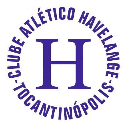 free vector Clube atletico havelange de tocantinopolis to