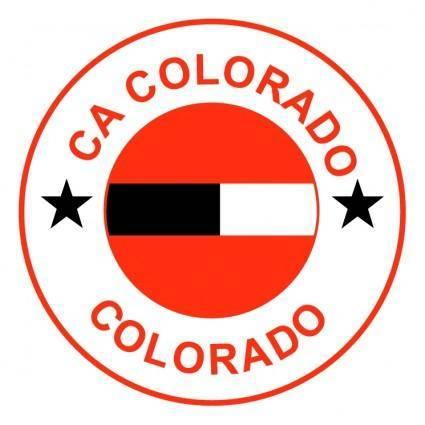 free vector Clube atletico colorado de colorado pr