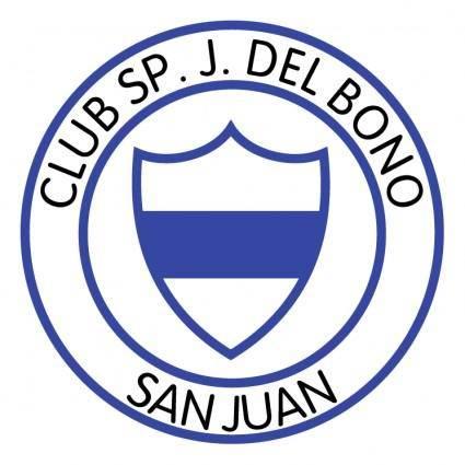 free vector Club sportivo juan bautista del bono de san juan