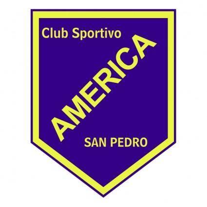 Club sportivo america de san pedro
