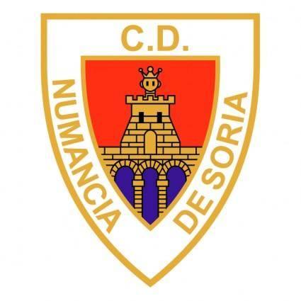 free vector Club deportivo numancia de soria