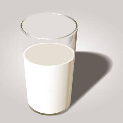 free vector Milk theme vector 3