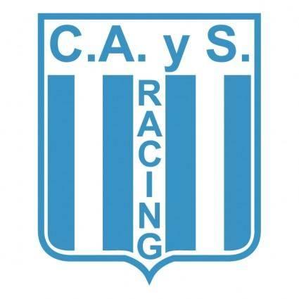 free vector Club atletico y social racing de general mansilla