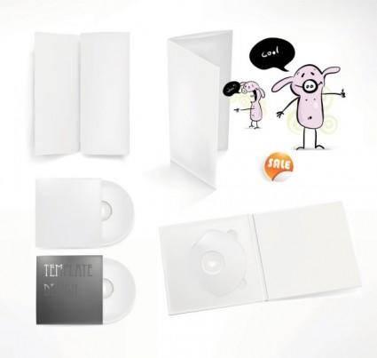 Simple cd packaging 01 vector