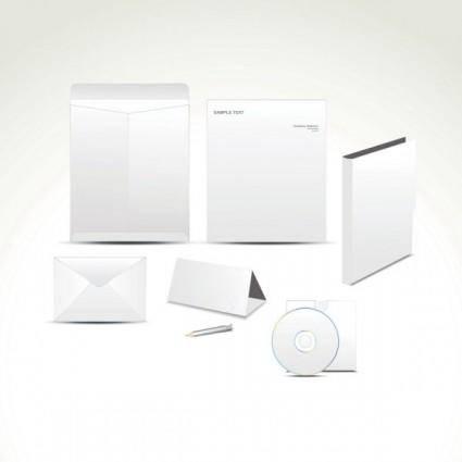 Simple cd packaging 02 vector