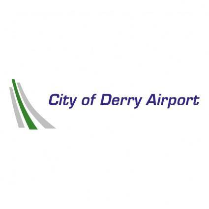 free vector City of derry airport