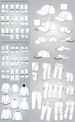 free vector Costume design vector