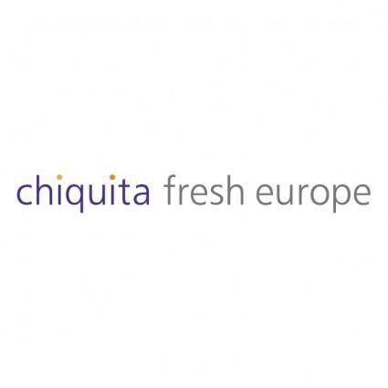 free vector Chiquita fresh europe