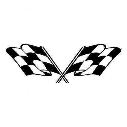 free vector Checkered flags