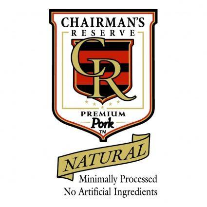 Chairmans reserve