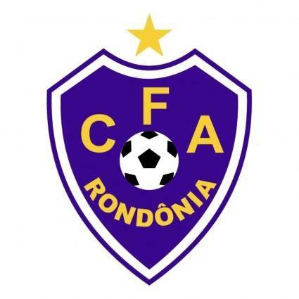 free vector Cfa centro de futebol da amazonia de porto velho ro