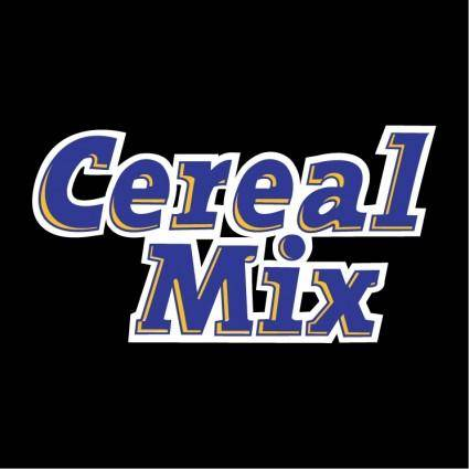 free vector Cereal mix
