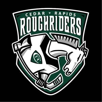 free vector Cedar rapids roughriders