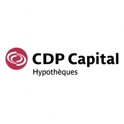 Cdp capital hypotheques