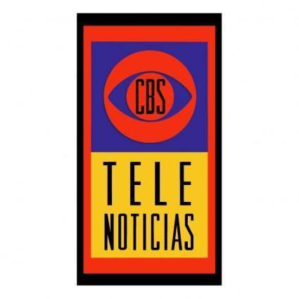 free vector Cbs tele noticias