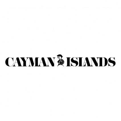 free vector Cayman island