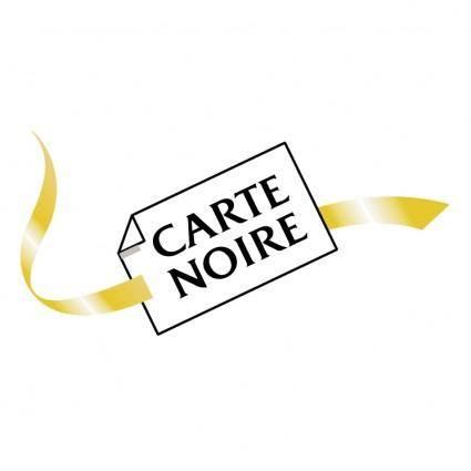 free vector Carte noire 0