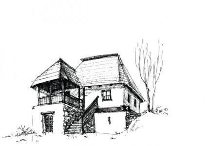 free vector House sketch vector 3