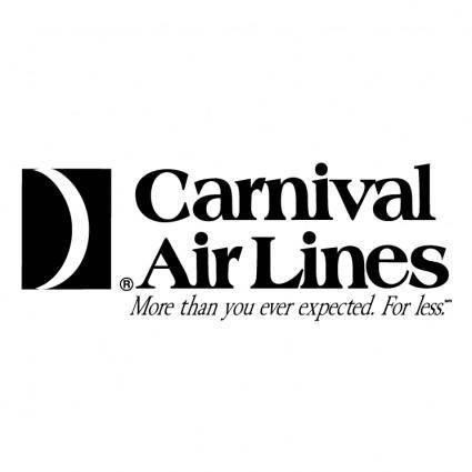 Carnival air lines 0