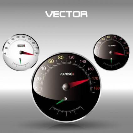 free vector Clock speed u200bu200btable 03 vector