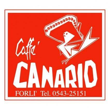 free vector Canario caffe