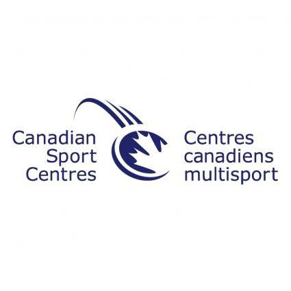 free vector Canadian sport centres