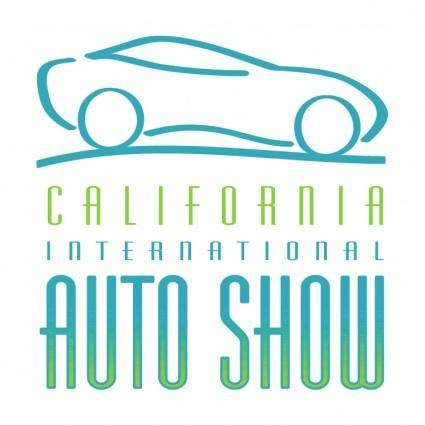 free vector California international auto show