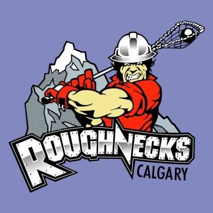 free vector Calgary roughnecks