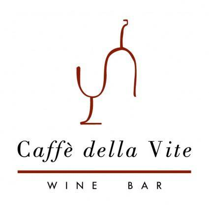 free vector Caffe della vite