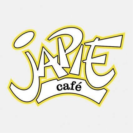free vector Cafe japies