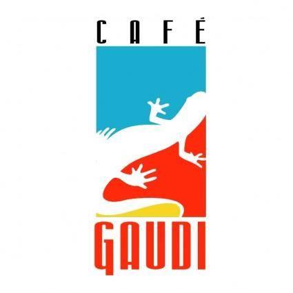 free vector Cafe gaudi