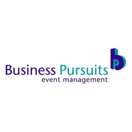 Business pursuits