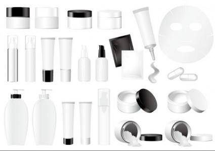 free vector Empty vector cosmetic packaging