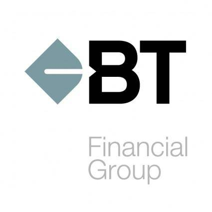 free vector Bt financial group 0
