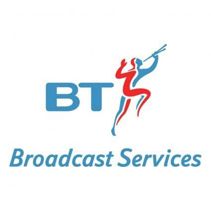 free vector Bt broadcast services