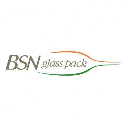 free vector Bsn glass pack