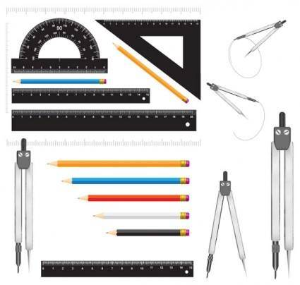 Measurement stationery vector