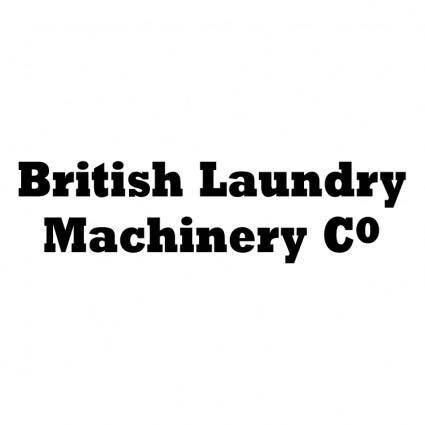 British laundry machinery