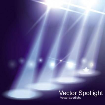 free vector Spotlight 03 vector