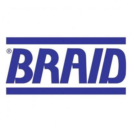 free vector Braid