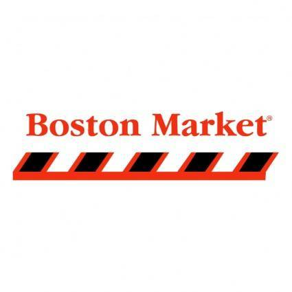 free vector Boston market 1