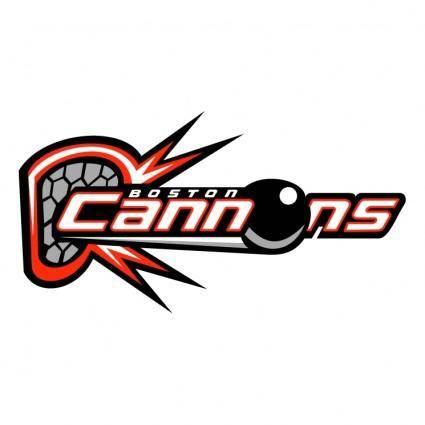 free vector Boston cannons