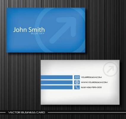 Exquisite business cards 01 vector 4931
