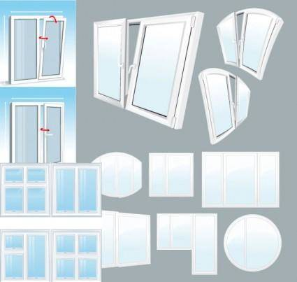 free vector Plastic window vector