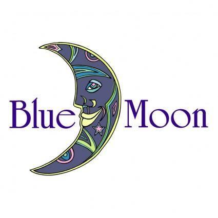free vector Blue moon